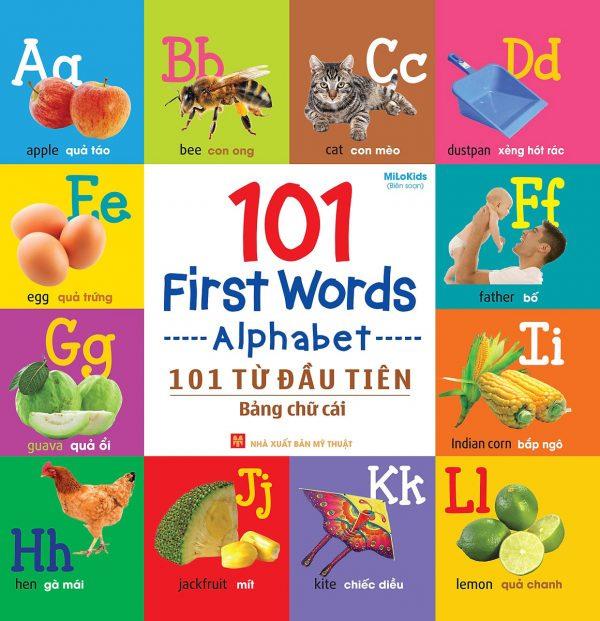 101 First Words - Alphabet (101 Từ Đầu Tiên - Bảng Chữ Cái)