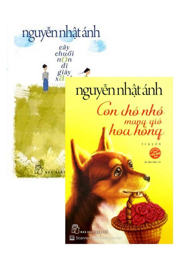 Combo Bộ Sách Cây Chuối Non Đi Giày Xanh + Con Chó Nhỏ Mang Giỏ Hoa Hồng (Bộ 2 Cuốn)