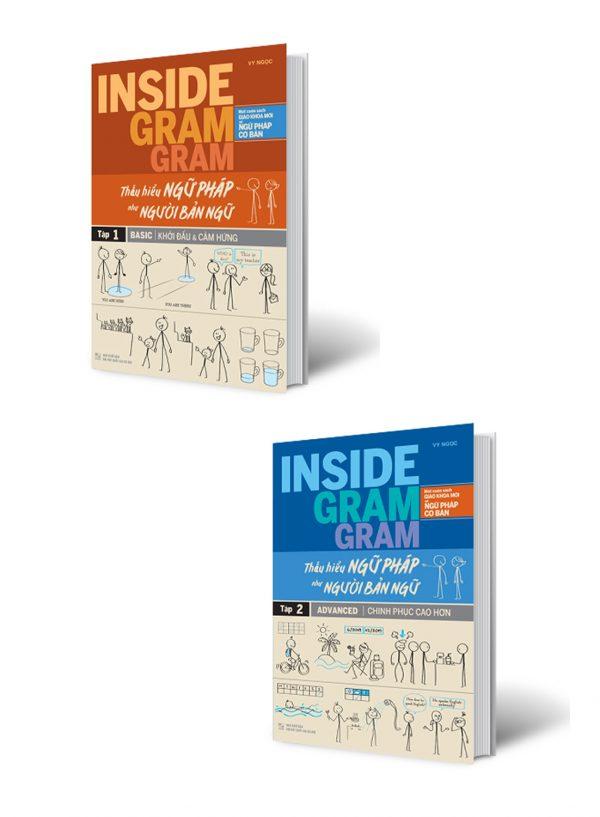 Combo Inside Gram Gram Thấu Hiểu Ngữ Pháp Như Người Bản Ngữ Tập 1+2