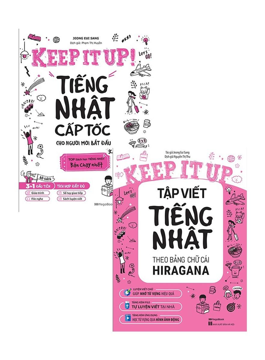 Combo Keep It Up - Tiếng Nhật Cấp Tốc Cho Người Mới Bắt Đầu (Bộ 2 Cuốn)
