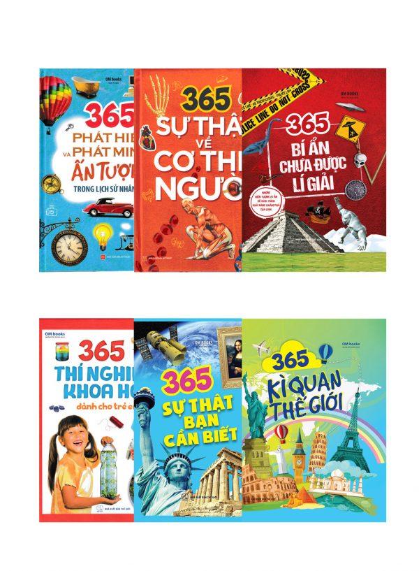 Combo Sách 365 - Cùng Con Khám Phá Thế Giới