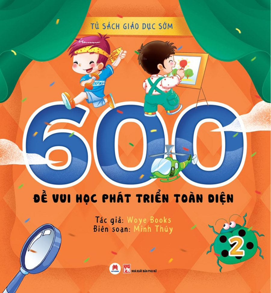600 Đề Vui Học Phát Triển Toàn Diện (Tập 2)