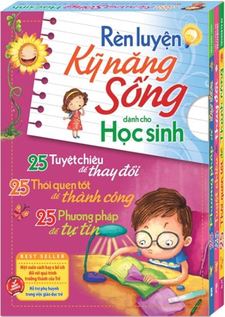 Sách Rèn Luyện Kỹ Năng Sống Dành Cho Học Sinh (bộ 3 cuốn)