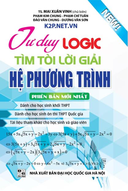 Tư Duy Logic Tìm Tòi Lời Giải Hệ Phương Trình