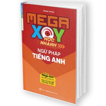 Sổ Tay Mega XOY Học Nhanh Ngữ Pháp Tiếng Anh
