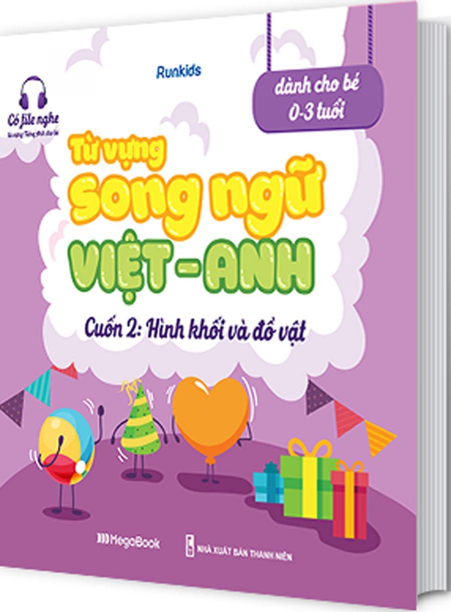 Từ Vựng Song Ngữ Việt Anh Cuốn 2: Hình Khối Và Đồ Vật