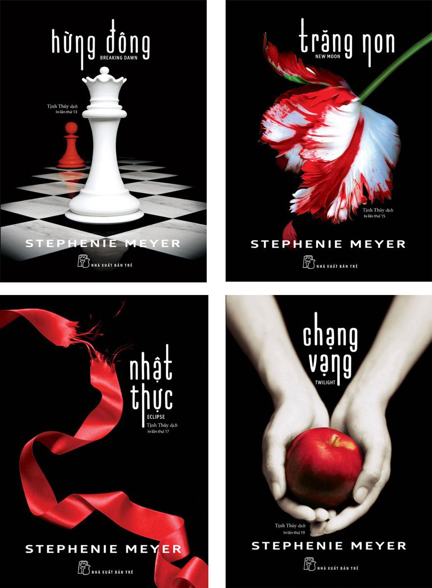 Combo Bộ Sách Nổi Tiếng Của Stephenie Meyer (Bộ 4 Cuốn)