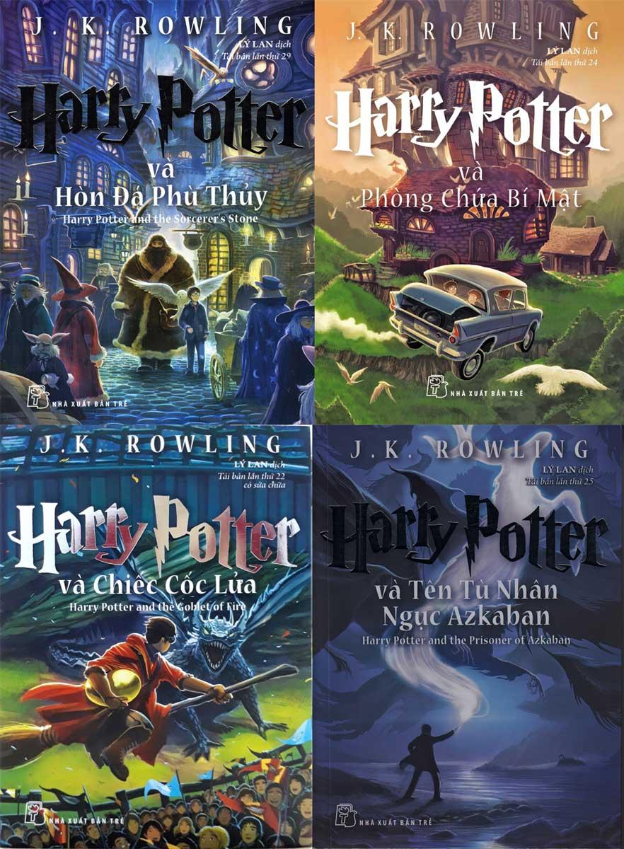 Combo Harry Potter 4 Tập (Tập 1 Đến 4)